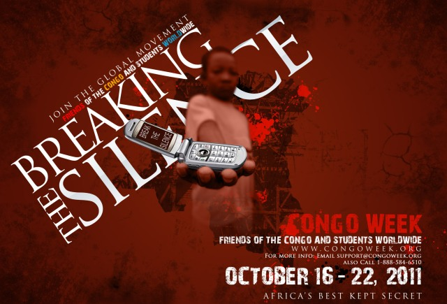 Poster for Congo Week IV October 16-21, 2011