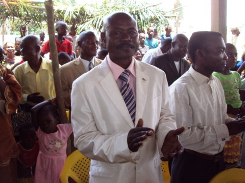 Augustin Bolankoko, Assistant Director of Disciples AIDS programming, died on October 25, 2011
