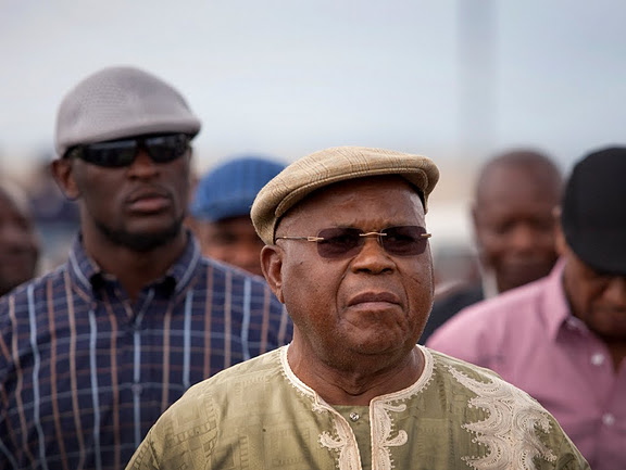 Etienne Tshisekedi, leader of the opposition UPDS party