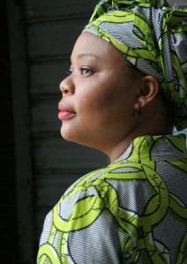 Press Photo of Leymah Gbowee