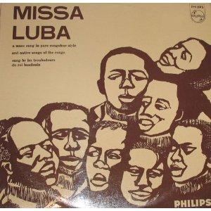 Album Cover for 1965 Phillips Missa Luba Recording