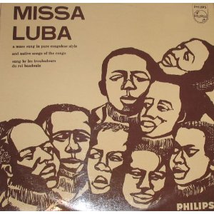 Album Cover for 1965 Phillips Missa Luba Recording