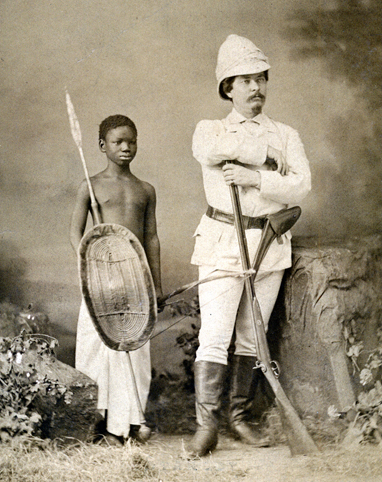 Stanley with Kalulu