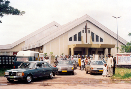 With Seating for 7500, the Protestant Centennial Cathedral Was Dedicated in 1994