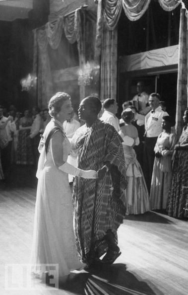 "The Duchess of Kent dancing with President Nkrumah symbolized for Dr. King the ""beloved community"" non violent struggle sought to create"