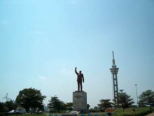 In a cynical gesture to nationalism, worthy of Mobutu, Joseph Kabila had the statue and monument to Patrice Lumumba erected