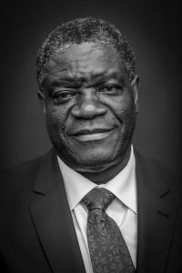 Nominated for the Nobel Peace Prize, Dr. Denis Mukwege has pioneered surgical treatment of gang rape victims in eastern Congo.  He is the son of pastors in the Pentecostal Church.