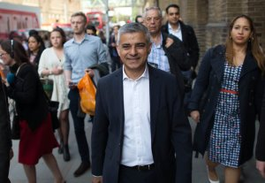 Son of a Muslim immigrant bus driver Sadiq Khan is the newly elected Mayor of London (Photo by Jonathan Brady, Press Association)