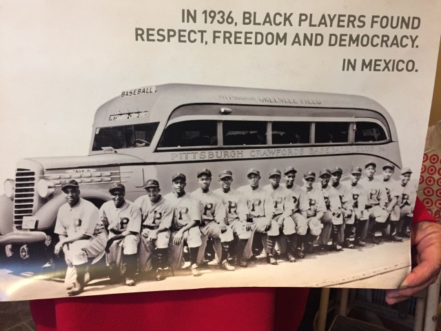 During the decades of segregated baseball in the U.S., many African American teams competed in Mexico in the winter offseason.