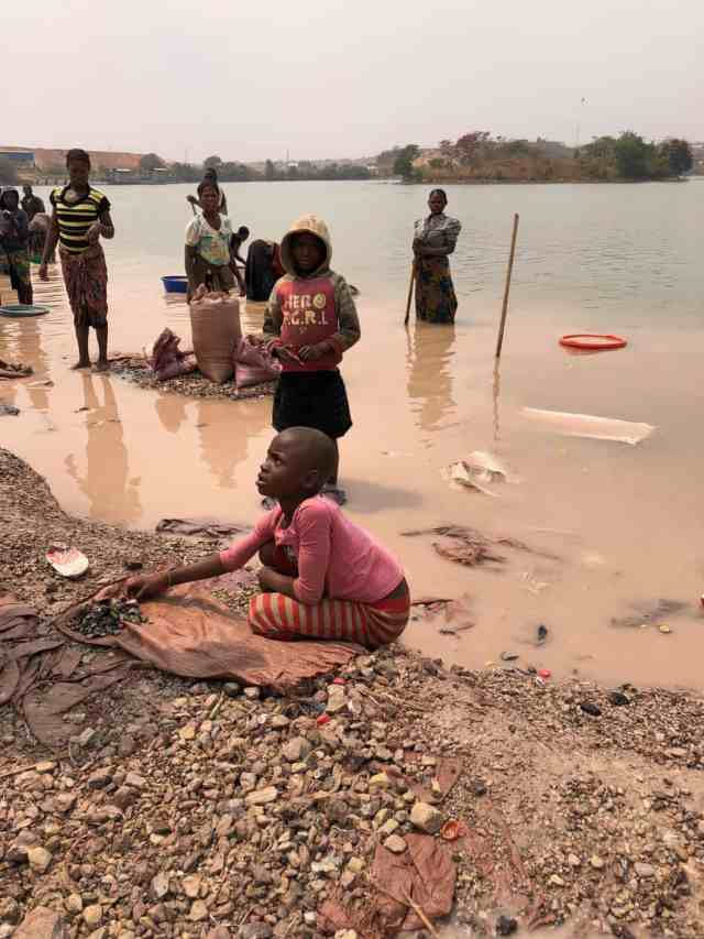 Artisanal mining of cobalt involves children as young as 6 looking for rocks with cobalt